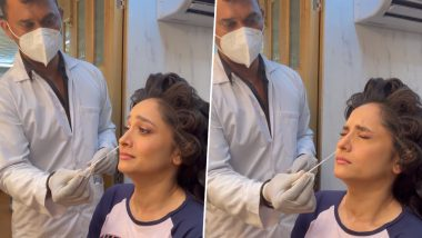 Pavitra Rishta 2.0: अर्चना के किरदार मेंलौट रही Ankita Lokhande ने शूटिंग सेट पर कराया कोरोना टेस्ट, देखें मजेदार Video