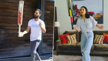 अनुष्का शर्मा को इस मजेदार चैलेंज में नहीं हरा पाए Virat Kohli, सोशल मीडिया पर वीडियो हुआ वायरल (देखें वीडियो)