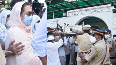 Dilip Kumar का अंतिम संस्कार राजकीय सम्मान से कराने के लिए पत्नी सायरा बानो ने पीएम मोदी और सीएम उद्धव ठाकरे को कहा 'शुक्रिया'