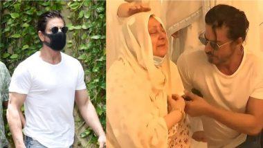 Dilip Kumar: बेटे की तरह Saira Bano का ढाढस बंधाते Shah Rukh Khan की इस फोटो को देखकर भावुक हुए फैंस, इंटरनेट पर हुई Viral