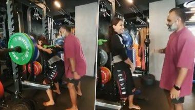 खूबसूरत Disha Patani ने जिम में दिखाया अपना दमखम, उठा लिया 80 किलो का वजन