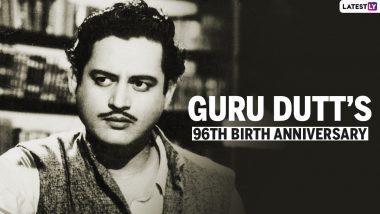 Guru Dutt's 96th Birth Anniversary: गुरु दत्त के जीवन से जुड़ी कुछ रोचक यादें! जानें उनकी मृत्यु का रहस्य!