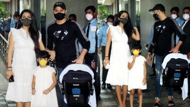Geeta Basra और Harbhajan Singh अस्पताल से अपने बेटे को लेकर घर हुए रवाना, देखिए तस्वीरें