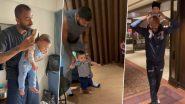 Hardik Pandya ने बेटे अगस्त्य के पहले जन्मदिन पर दिल छू लेने वाला वीडियो किया शेयर, आप भी देखें