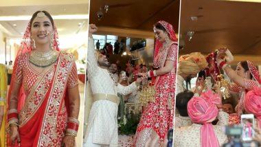 शादी के बंधन में बंधे Rahul Vaidya और Disha Parmar, मंडप से वीडियो आया सामने