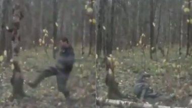 Viral Video: पेड़ को बार-बार लात मार रहा था शख्स, मिला ऐसा सबक कि जिंदगी भर रहेगा याद