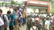 Delhi Metro: दिल्ली में 100 फीसदी क्षमता के साथ शुरू हुई मेट्रो सेवा, पहले ही दिन दिखी यात्रियों की भीड़