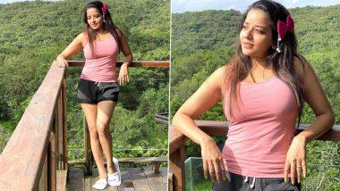 Monalisa Hot Photos: भोजपुरी एक्ट्रेस मोनालिसा ने वन पीस ड्रेस पहनकर ढाया कहर, लेटेस्ट फोटो हैं बेहद कातिलाना