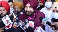 लुधियाना: पंजाब कांग्रेस के अध्यक्ष नवजोत सिंह सिद्धू ने DMC अस्पताल पहुंचकर बस दुर्घटना में घायल हुए पार्टी कार्यकर्ताओं से की मुलाकात