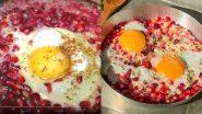 Pomegranate Omelette: अनार-अंडा और आमलेट! जानें क्या है फारसी डिश 'Morghan-E-Anar', देखें बनाने की विधि और सामग्री