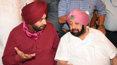 Punjab: ताजपोशी से पहले सिद्धू को मिला कैप्टन अमरिंदर का साथ, लंबी तनातनी के बाद एक मंच पर दिखे दोनों नेता