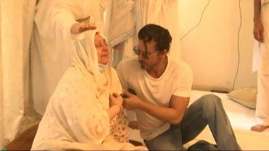 Dilip Kumar के निधन के बाद सायरो बानो को सहारा देते दिखे शाहरुख खान, Inside Photos आई सामने