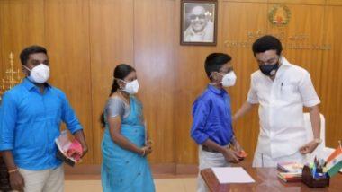 Tamil Nadu: सीएम स्टालिन ने कक्षा 9 के छात्र माधव को हथेली के आकार का कंप्यूटर सीपीयू बनाने पर दी शुभकामनाएं