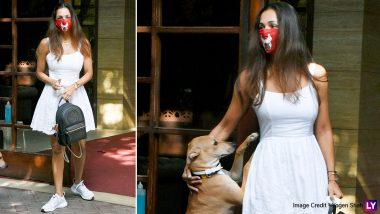 Malaika Arora ने एक बार फिर दिखाया अपना बोल्ड अवतार, वाईट कलर की छोटी ड्रेस में दिखी बेहद खूबसूरत