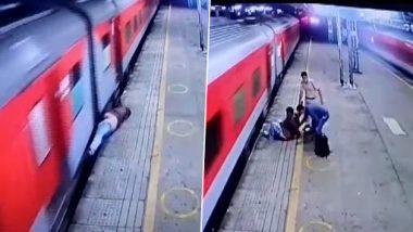 Video: बोरीवली रेलवे स्टेशन पर चलती ट्रेन से उतरने की कोशिश में गिरा यात्री, आरपीएफ कांस्टेबल ने ऐसे बचाई जान, देखें वायरल वीडियो