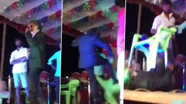 Funny Video: रजनीकांत बनकर स्टाइल मार रहा था शख्स, स्टंट करने के चक्कर में गिरा धड़ाम...उसके बाद जो हुआ, देखें वीडियो