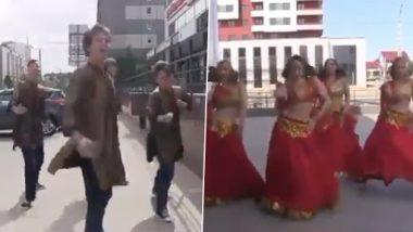 Viral Video: पंजाबी गाने पर रूसी लड़कियों ने किया भांगड़ा, परफेक्ट मूव्स देख लोग हुए फैन, देखें वीडियो