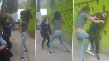 Viral Video: लड़कियों के बीच झोटा उखाड़ झगड़े का क्लिप वायरल, वीडियो देख नहीं रोक पाएंगे हंसी