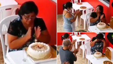 Viral Video: महिला अकेले मना रही थी बर्थडे, रेस्टोरेंट स्टाफ ने दिया सरप्राइज, इमोशनल वीडियो हुआ वायरल
