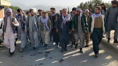 अफगानिस्तान में तालिबान विरोधी प्रदर्शन नए शासकों के लिए खतरे की घंटी