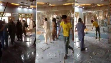 Pakistan: पंजाब प्रांत के सिद्धिविनायक मंदिर में कट्टरपंथियों ने की तोड़फोड़, फेसबुक पर लाइव किया शर्मनाक कृत्य का वीडियो