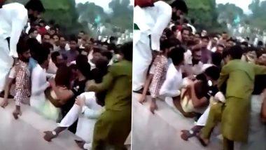 Pakistan Shocker: इमरान का नया पाकिस्तान तालिबान से भी बदतर, भीड़ ने महिला TikToker को हवा में उछाला-कपड़े फाड़े (Watch Video)
