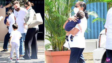 सैफ अली खान का 52वां जन्मदिन मनाने मालदीव रवाना हुई करीना कपूर, दोनों बेटे भी साथ आए नजर