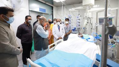 Kalyan Singh Health Update: पूर्व मुख्यमंत्री कल्याण सिंह से मिलने अस्पताल पहुंचे केंद्रीय गृह मंत्री अमित शाह