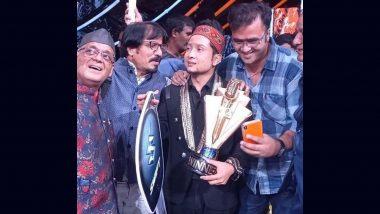 'Indian Idol 12' के विजेता पवनदीप सलमान खान, महेश से मिलकर हुए खुश