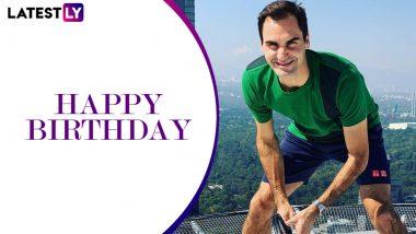 Happy Birthday Roger Federer: 40 साल के हुए टेनिस के महान खिलाड़ी रोजर फेडरर