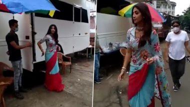 Pornography Case में पति Raj Kundra की गिरफ्तारी के बाद पहली बार शूट करने पहुंची Shilpa Shetty, देखिए वीडियो