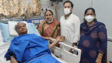 राजस्थान के SMS अस्पताल में सीएम अशोक गहलोत की सफल एंजियोप्लास्टी, बेटे ने फोटो शेयर कर की पिता के जल्द ठीक होने की प्रार्थना