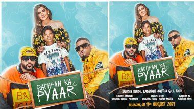 Bachpan Ka Pyaar गाने वाले सहदेव संग रैपर बादशाह ने बना डाला धमाकेदार गाना, पोस्टर किया रिलीज