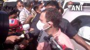 दिल्ली नाबालिग रेप: पीड़ित परिवार से मिलने पहुंचे राहुल गांधी, कहा- न्याय मिलने तक उनके साथ खड़ा हूं