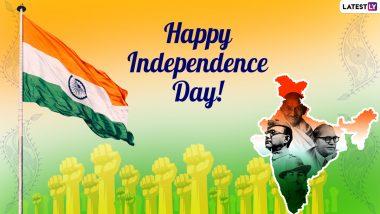 Happy Independence Day 2021 Messages: 15 अगस्त पर ये इंग्लिश HD Wallpapers, GIF Greetings, Images भेजकर 75वें स्वतंत्रता दिवस की दें बधाई