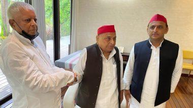 UP Assembly Elections 2022: यूपी विधानसभा चुनाव को लेकर राजनीतिक हलचल बढ़ी, मुलायम और अखिलेश से लालू यादव ने की मुलाकात