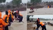 Madhya Pradesh: NDRF ने बाढ़ प्रभावित शिवपुरी से 40-50 निर्माण श्रमिकों को बचाया