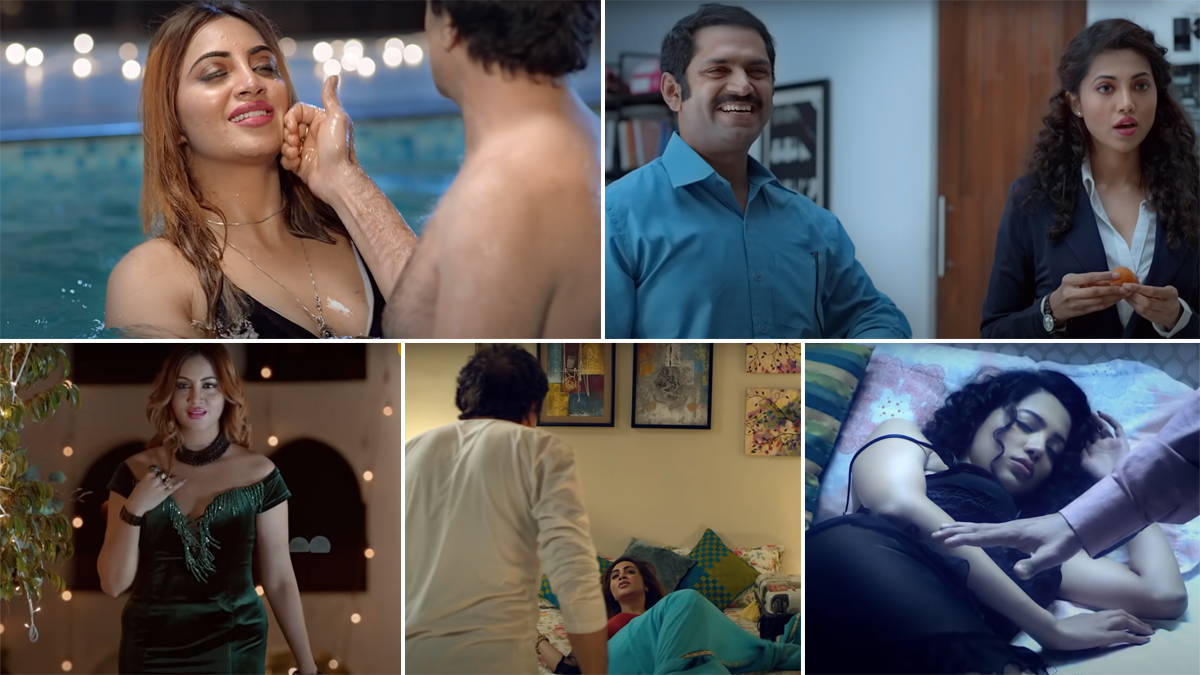 Bigg Boss fame Arshi Khan will be seen in Ullu's new web series, seen  crossing all limits of boldness - MoviesDarpan