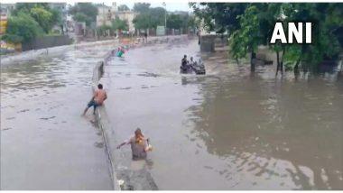 हरियाणा के सोनिपत शहर में भारी बारिश के चलते कई इलाकों में भारी जलजमाव- देखें तस्वीरें