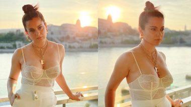 Kangana Ranaut ने धाकड़ की रैपअप पार्टी में पहनी बोल्ड ड्रेस, खूबसूरती कर देगी घायल