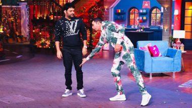 Kapil Sharma के पैर छूते दिखे Akshay Kumar, कॉमेडियन ने कहा- आशीर्वाद लेने आए हैं