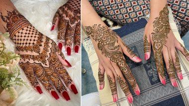 Raksha Bandhan 2021 Mehndi Designs: रक्षा बंधन पर अपने हाथों की खूबसूरती बढ़ाएं, देखें इंडियन, अरबी और राजस्थानी मेहंदी डिजाइन्स