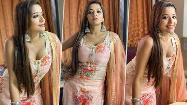 Monalisa Desi Look: भोजपुरी एक्ट्रेस मोनालिसा ने देसी लुक से मचाई सनसनी, खूबसूरती बना देगी दीवाना