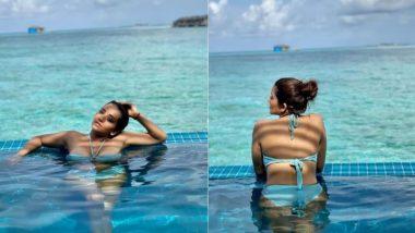 Monalisa Bikini Dance Video: बिकिनी पहन भोजपुरी एक्ट्रेस मोनालिसा उतरी स्विमिंग पूल में, मणिके मगे हिते गाने पर किया डांस