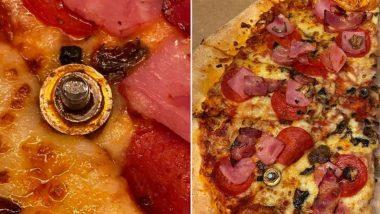 OMG! डोमिनोज पिज्जा में नट और बोल्ट को देखकर उड़े महिला के होश, गुस्से में आकर उठाया ये कदम