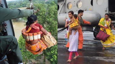 West Bengal Flood: पश्चिम बंगाल में भारी बारिश से बाढ़ और तबाही, इंडियन एयर फोर्स ने युद्ध स्तर पर शुरू किया रेस्क्यू ऑपरेशन