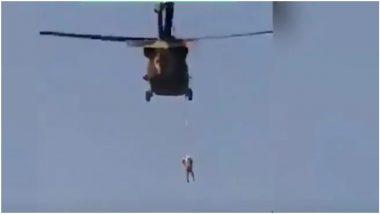Afghanistan: तालिबान का खौफनाक वीडियो आया सामने, शख्स को हेलीकॉप्टर से बांधकर उड़ाया, फांसी देने का अंदेशा!