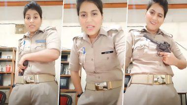 Viral Video: यूनिफॉर्म पहनकर हाथ में रिवॉल्वर लेकर वीडियो बनाना आगरा की महिला सिपाही को पड़ा भारी, SSP ने किया लाइन हाजिर