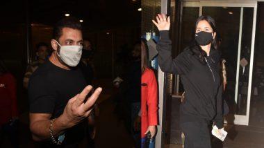 Tiger 3 की शूटिंग के लिए रूस रवाना हुए Salman Khan और Katrina Kaif, एअरपोर्ट पर हुए स्पॉट