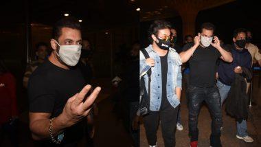 Salman Khan को गेट पर रोका CISF जवान ने, सोशल मीडिया पर लोग करने लगे तारीफ
